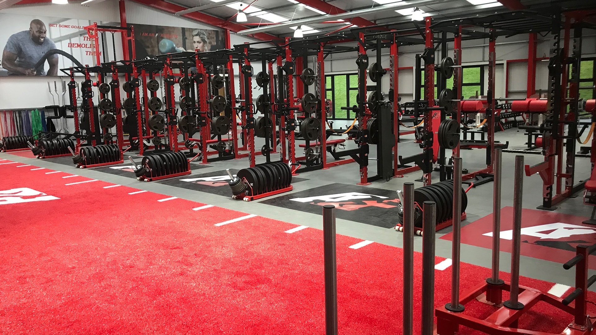 The athlete factory chester world class gym training facility