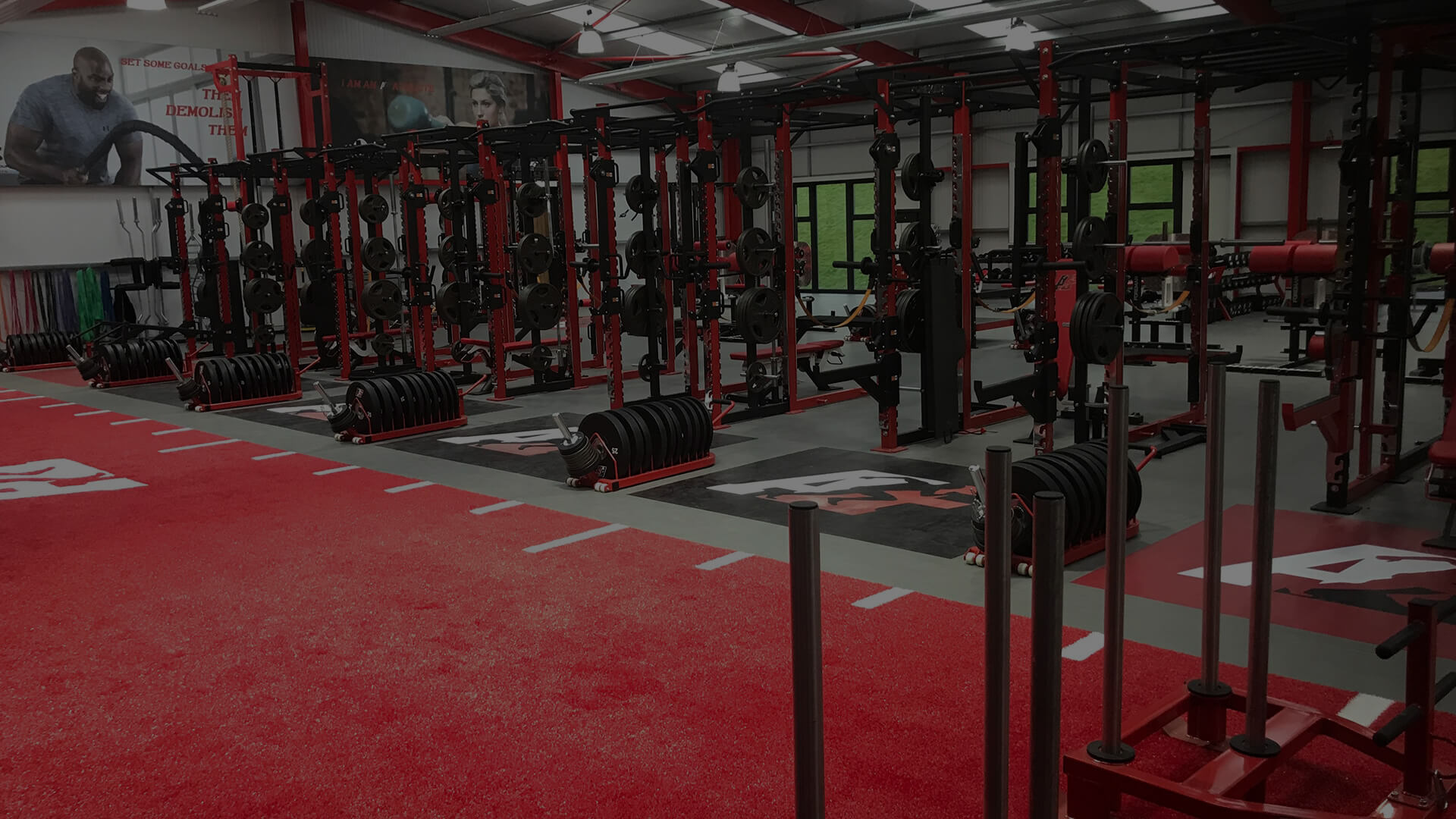 The Athlete Factory Chester | Quality Gym in Chester | video backgrounds