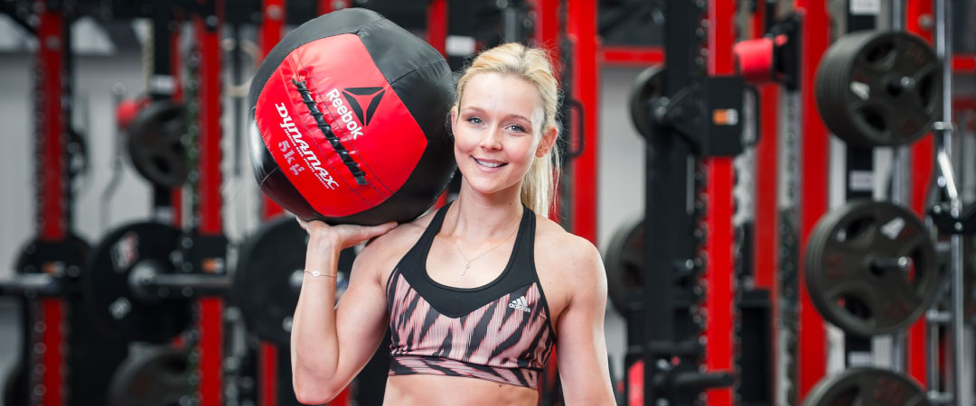The Athlete Factory Chester | Best Gym in Chester | medicine ball