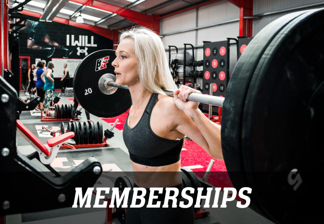 The Athlete Factory Chester | Gym in Chester | She Fit - Weightlifting